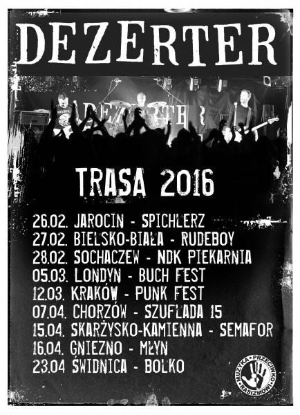 Trasa 2016 - zapraszamy na koncerty