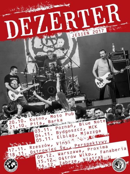 Dezerter - Trasa Jesień 2017