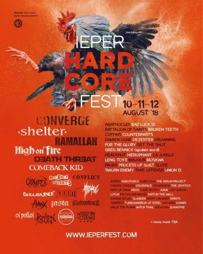 Ieper Hardcore Fest 2018 - 26th edition