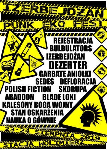 Izerbejdżan PUNK EKO FEST 2019
