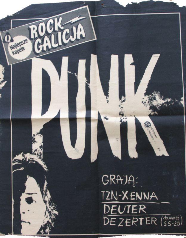 Plakaty I Ulotki Koncertowe Dezerter Wwwdezertercom